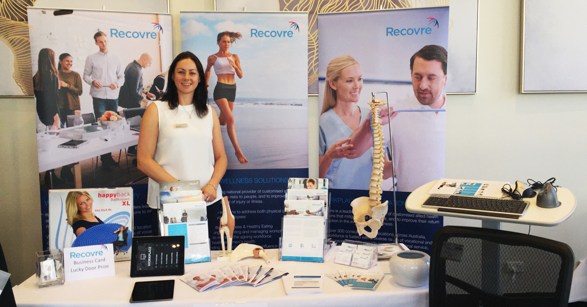 Recovre at the Coffs Coast Business Expo